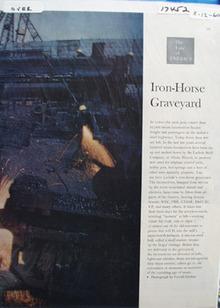 Iron Horse Graveyard Article 1960