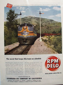 RPM Delo Std Oil & Diesel Engine Ad 1949