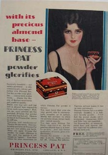 Princess Pat Powder Ad 1929