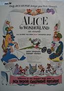 RCA Victor & Walt Disney Alice Ad 1951