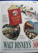 Disney So Dear To My Heart Movie Ad 1956