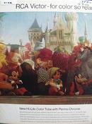RCA Victor & Disney Ad 1966