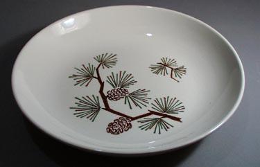 Scio Pine Cone Soup Bowl