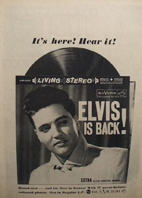 Elvis Presley RCA Victor Ad 1976