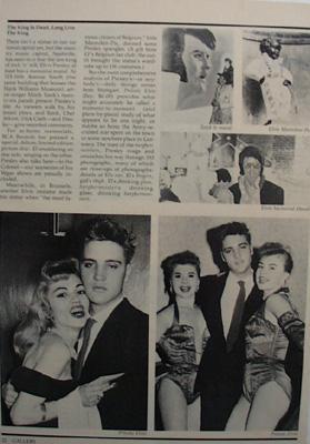 Elvis Presley The King is Dead Article 1979