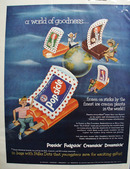 Popsicle World of Goodness Ad 1952