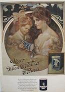 Morton's Salt Girl Filling Salt Shaker Ad 1968