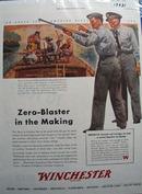 Winchester Zero Blasting Ad 1944