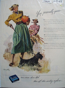 Kotex Personally Yours Ad 1949