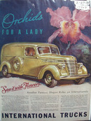 International Truck Say It With Flowers Ad 1939