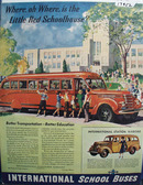 International School Bus Better Education Ad 1940