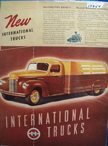 International Trucks Distinctive Beauty Ad 1941