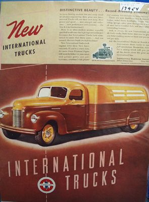 International Trucks Distinctive Beauty Ad 1941
