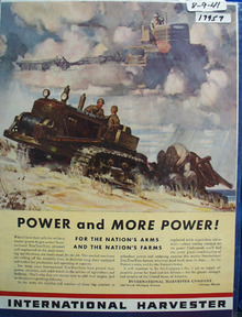 International Military Tractor Power Ad 1941