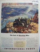 International End of Shooting War Ad 1943