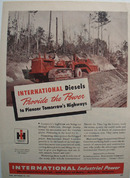 International Provides the Power Ad 1947