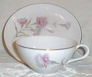 Royal Court Carnation Cup & Saucer