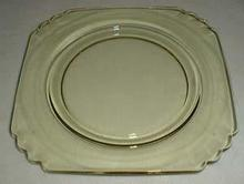 Fostoria Mayfair in Yellow Salad Plate