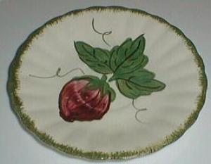 Blue Ridge Wild Strawbery saucer for cup