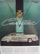Cadillac whatever the occasion. Ad