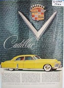 Cadillac striking beauty and individuality. Ad