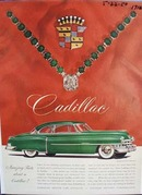 Cadillac amazing facts. Ad was published 5/22/50