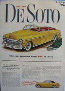 DeSoto the car designed with you in mind. Ad