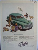 Dodge wealthy family. Ad was published 2/9/48