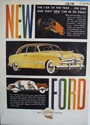 Ford Forty-Niner car of the year. Ad