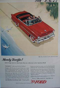 53 Ford is merely terrific. Ad