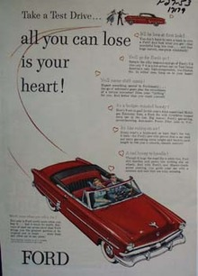 Ford all you can lose is you heart. Ad