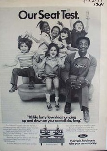 Ford and Cosby kids test. Ad