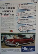Hudson Americas 4-most  car. Ad