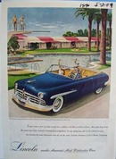 Lincoln makes Americas most distinctive cars. Ad