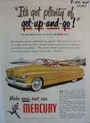 Mercury has plenty of get-up and-go. Ad