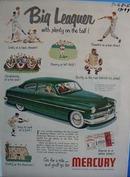 Mercury go for a ride. Ad
