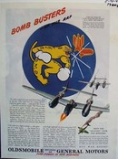 Oldsmobile bomb busters of the AAF. Ad