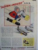 Oldsmobile Super-Mouse U.S.N. Ad