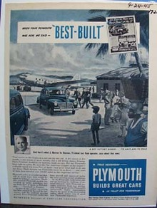 Plymouth builds great cars. Ad was published 9/24/45
