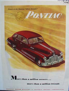 Pontiac more than million owners ad