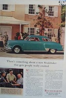 Studebaker something about them gets people excited. Ad