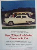 Studebaker Commander so exciting  ad