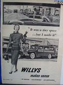 Willys makes sense. Ad was published 11/6/50