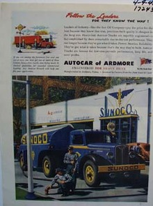 Autocar follow the leaders for they know the way. Ad