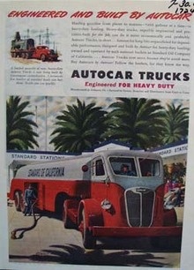 Autocar engineered and built for heavy-duty jobs. Ad