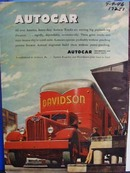 Autocar engineered for heavy duty. Ad