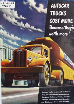 Autocar trucks cost more because theyre worth more. Ad