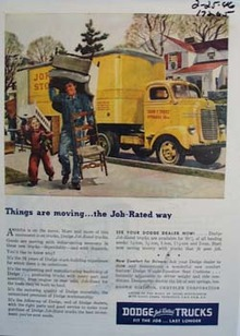 Dodge jobs rated trucks fit the job and last longer. Ad