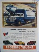 Federal trucks demand the tough jobs. Ad