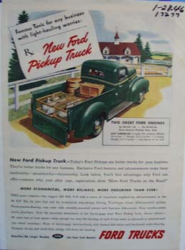 Ford famous tonic for any business ad